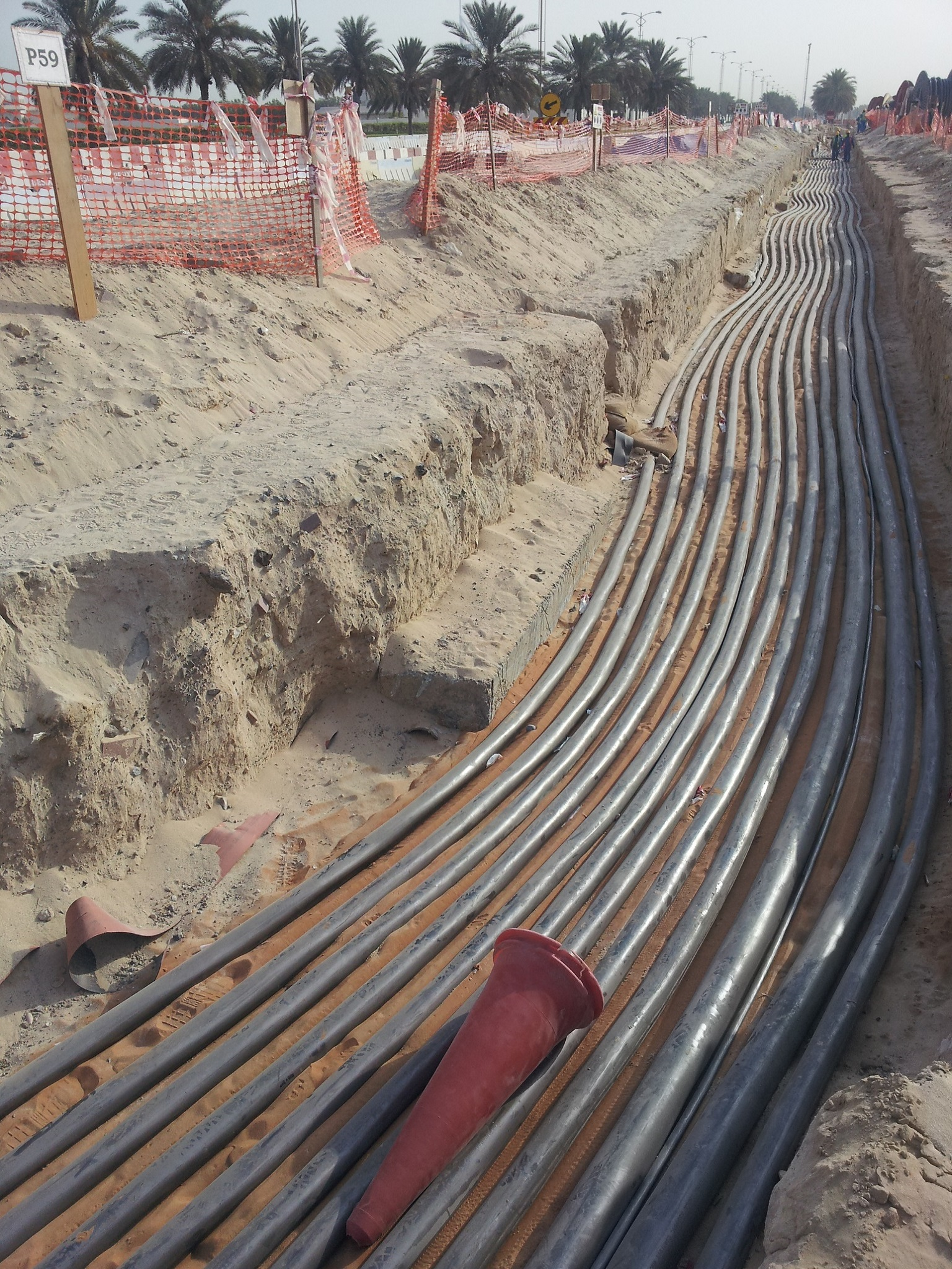 11kv Cable Laying Works and All Associated at Dubai Marina & Hotel Apartments